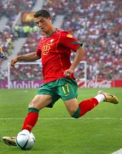 Cristiano Ronaldo - winger / striker