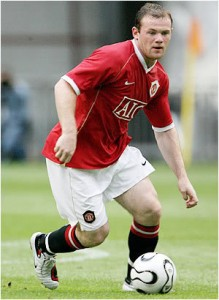 Wayne Rooney - striker / in the hole / winger