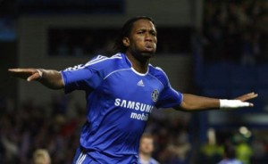 Chelsea and Drogba: two shots on target, two goals