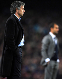 Mourinho v Guardola - the focus is on the special one